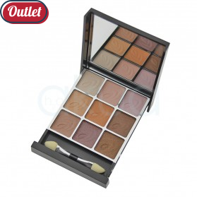 Paleta sombra MYA 9 colores OUTLET