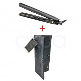 Plancha Gold Styler mas neceser termico ghd