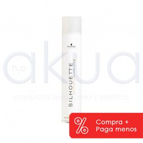 Laca Silhouette flexible Blanco 750ml